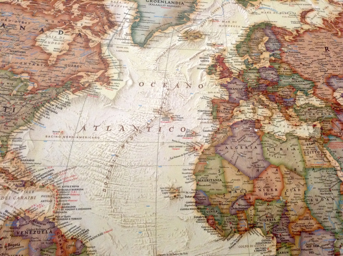 Prossime geografie.