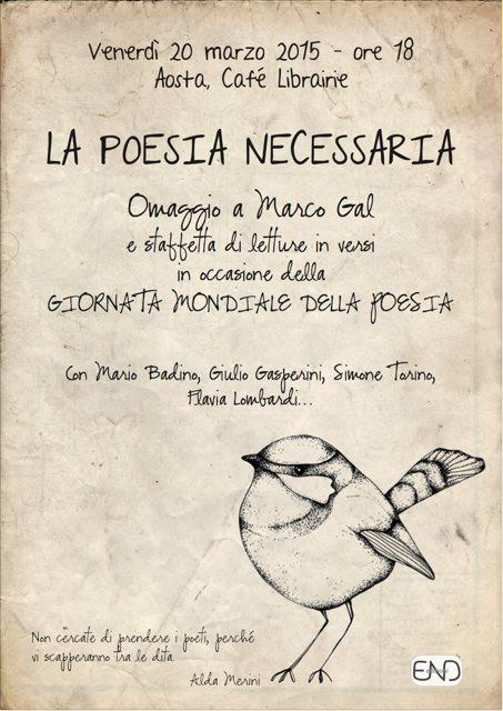 #lapoesianecessaria