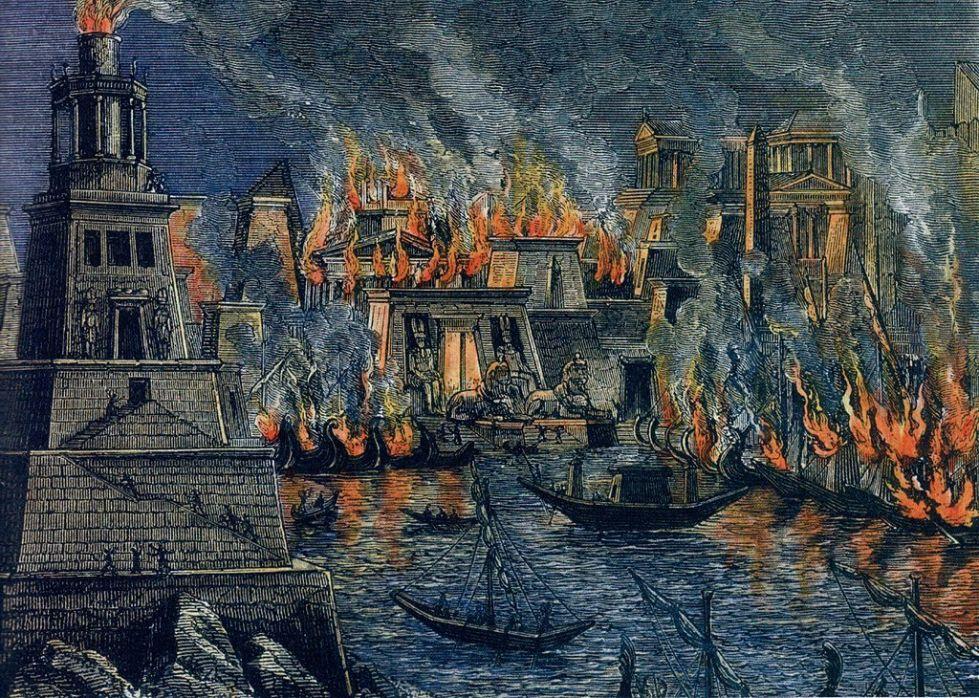Incendio di Alessandria