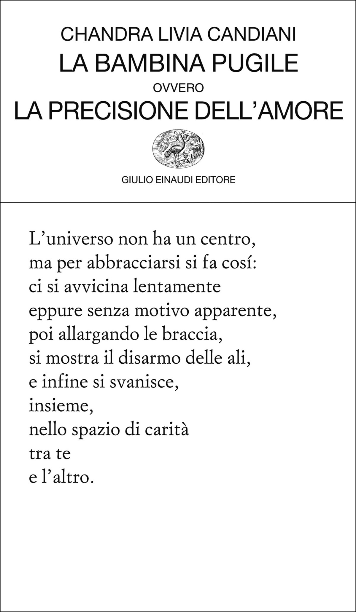 A voce alta: poesia di Chandra LiviaCandiani