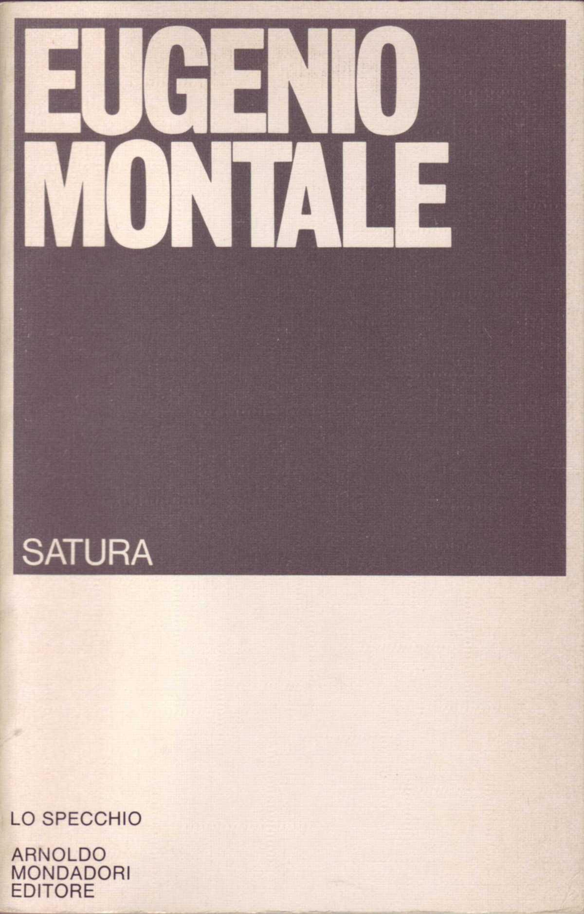 A voce alta: Fine del '68 di EugenioMontale